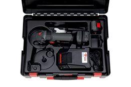 Battery-powered angle grinder EWS 18-A, 125 mm disc - ANGLGRIND-CORDL-(EWS18-A/125MM)-2X4.0AH