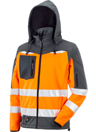 Picture of HI VIS SOFTSHELL WINTER JACKET