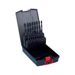 Twist drill bit assortment HSS DIN 338 type RN 118° - DRL-MET-SET-DIN338-HSS-(D1-10)-0,5-19PCS