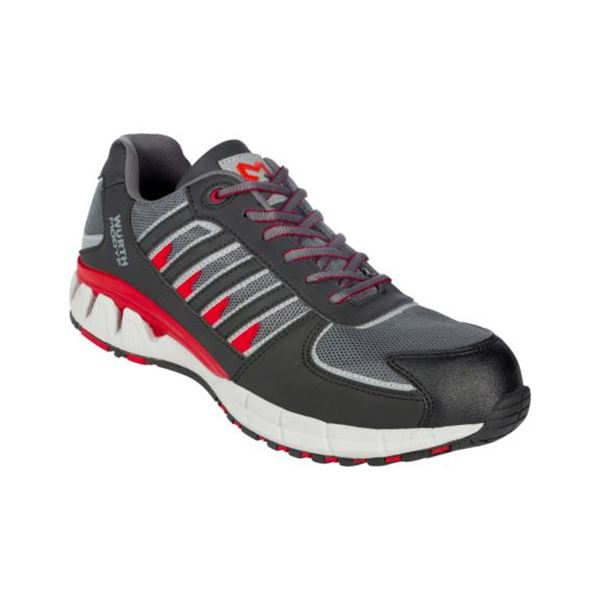 Active S1P safety shoes - SHOE ACTIVE S1P BLACK/RED 38