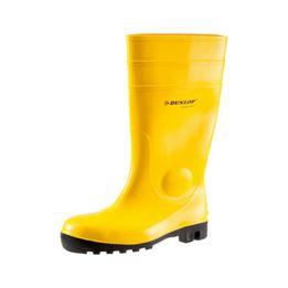 Dunlop S5 rubber safety boots - DUN WELLINGTON S5 YELLOW 45