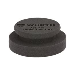 Extra soft polishing sponge pad - POLPUK-BLACK-(EXTRA-SOFT)-D130X50MM