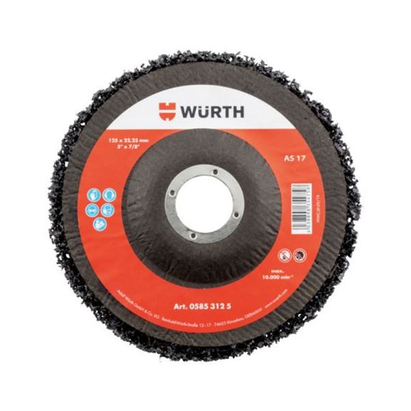 "4/"" Medium Nylon Silicon Carbide Embedded Wheel"
