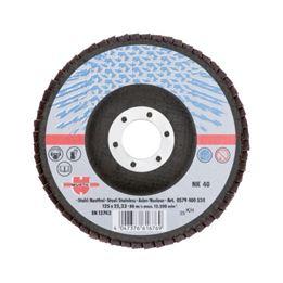 Segmented Grinding Disc for Steel - FLPDISC-NC-CLTH-SR-BR22,23-G40-D125