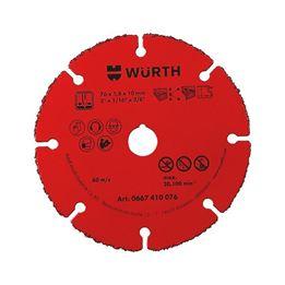 Cutting disc, carbide-tipped - CUTDISC-TC-1,8-DR10,0-D76MM