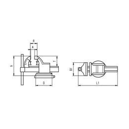 Parallel vice Heuer - PARAVCE-160MM