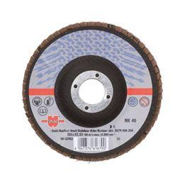 Segmented Grinding Disc for Steel - FLPDISC-NC-CLTH-DOMED-BR22,23-G40-D125