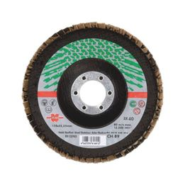 Segmented Grinding Disc For Stainless Steel - FLPDISC-ZC-CLTH-DOMED-BR22,23-G120-D125