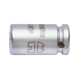 Connector DIN 7427 1/4 inch - CONPCE-BIT-4PT-1/4INXHEX-1/4IN