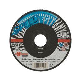 Speed cutting disc for steel - CUTDISC-SP-BLUE-ST-SR-TH2,0-BR22,2-D180
