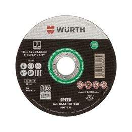 Cutting disc Speed plus for stainless steel - CUTDISC-SP-GRN-A2-CE-TH0,8-BR22,2-D125MM