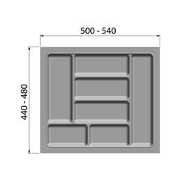 Cutlery insert - CTLINRT-WHITE-CORPUS-600MM