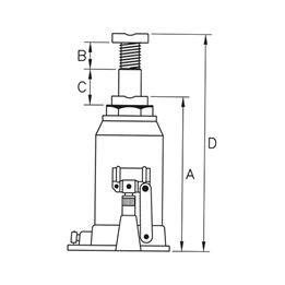 Hydraulic car jack - LFTJACK-HYDRAULIC-5TO