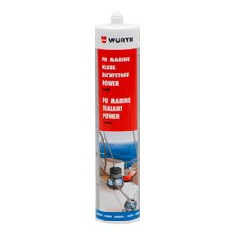Adhesive sealant Power PU Marine - STRUCADH-(MARINE-POWER)-WHITE-310ML