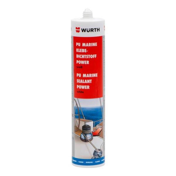 Adhesive sealant Power PU Marine - STRUCADH-(MARINE-POWER)-WHITE-310ML