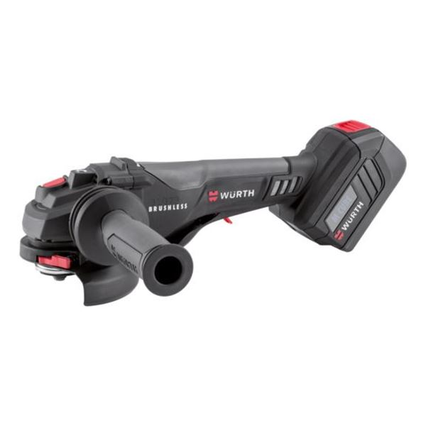 Cordless angle grinder AWS 18-125 P Compact M-CUBE<SUP>®</SUP> - ANGLGRIND-CORDL-(AWS18-125P COMPT)-2X5AH