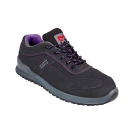 Carina S3 safety shoe, women's - SHOE CARINA S3 BLACK/PURPLE 36