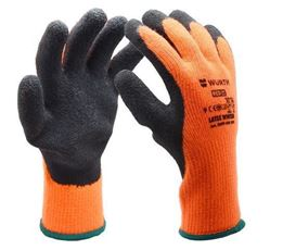 SAFETY-GLOVES-LATEX-WINTER-SIZE-8