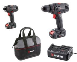 Picture of 12V Cordless Drill & Screwdriver Set